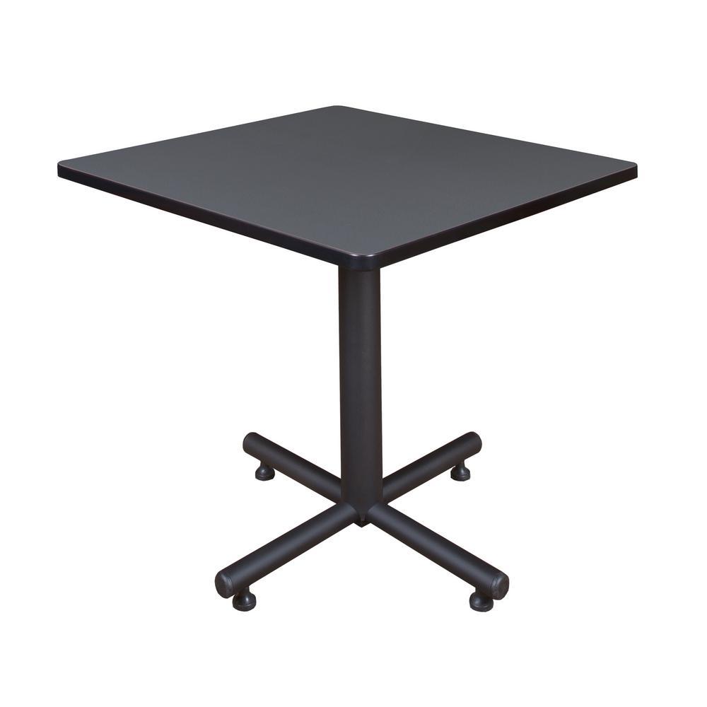 Regency Kobe Grey 30 in. Square Breakroom Table TKB3030GY