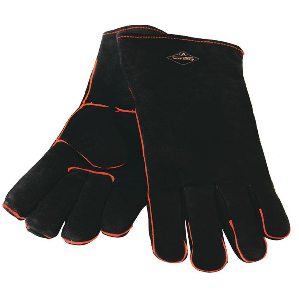 Heat Resistant Leather Grill Gloves