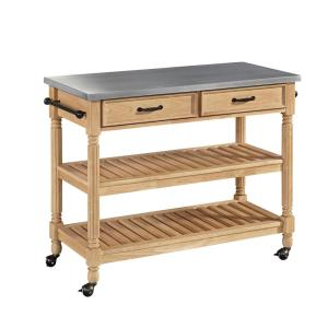 Superior Internet #300912786. Home Styles Savannah Maple Kitchen Cart ...