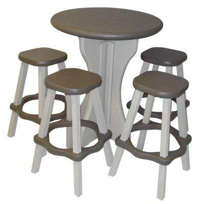 Portabello 5-Piece Patio Bistro Set