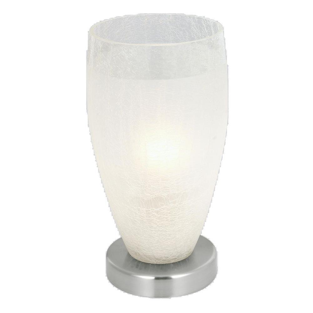 Eglo Crash 13 in. Matte Nickel Table Lamp