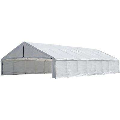 30 ft. x 50 ft. White Canopy Enclosure Kit