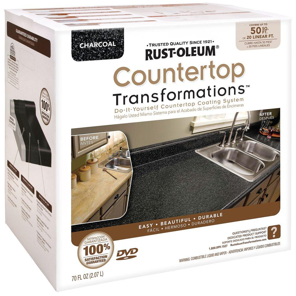 Charcoal Large Countertop Kit