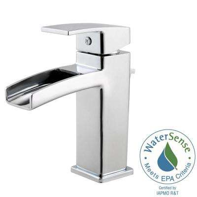 Kenzo Single Hole Single-Handle Bathroom Faucet in Polished Chrome