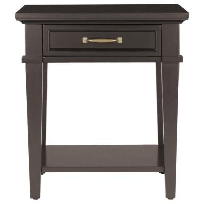 Martin Black Storage End Table