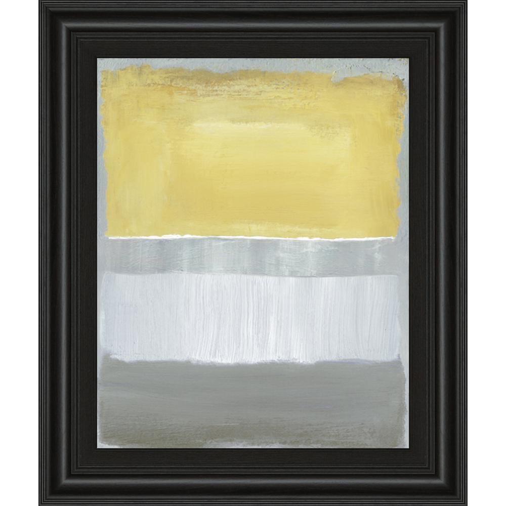 "22 in. x 26 in. ""Halflight I"" by Caroline Gold Framed Printed Wall Art"