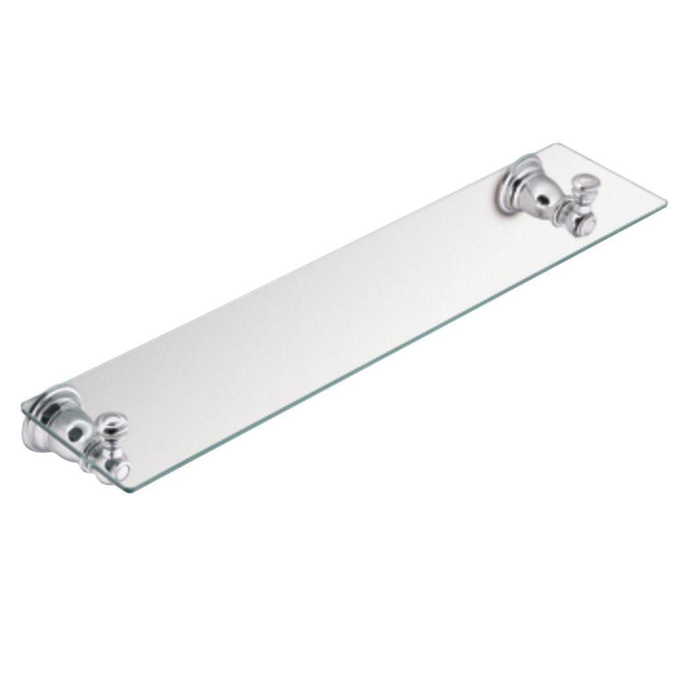 Chrome - Bathroom Shelves - Bathroom Cabinets & Storage - The Home Depot