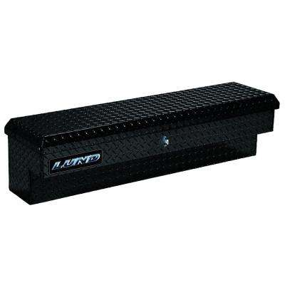 48 in. Aluminum Side Mount Truck Box, Black