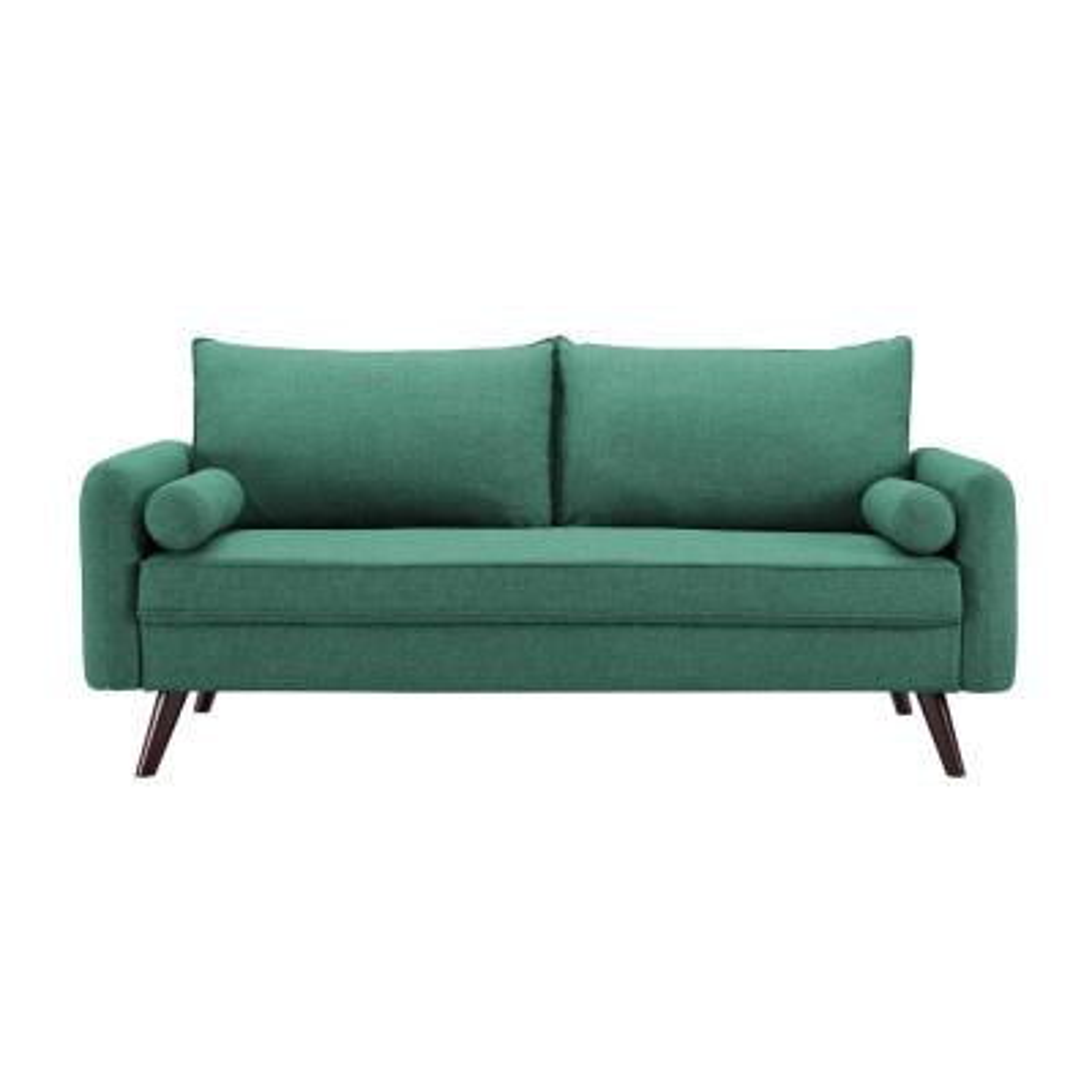 Callie Mid Century Sofa Sea Foam