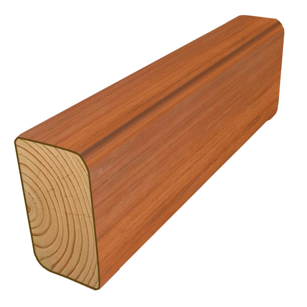 4 in. x 6 in. x 8 ft. #2 Doug Fir Polymer - Timber - Lumber & Composites - The Home Depot