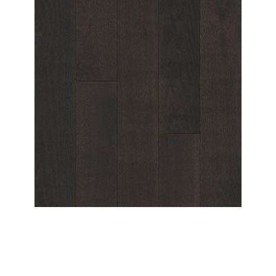 Take Home Sample - Oak Midnight Brown Solid Hardwood Flooring - 5 in. x 7 in.