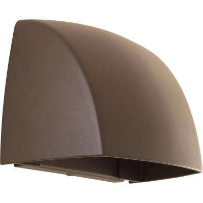 Traditional - 4 & Up - Brown - Integrated LED - Outdoor Wall Mounted ...