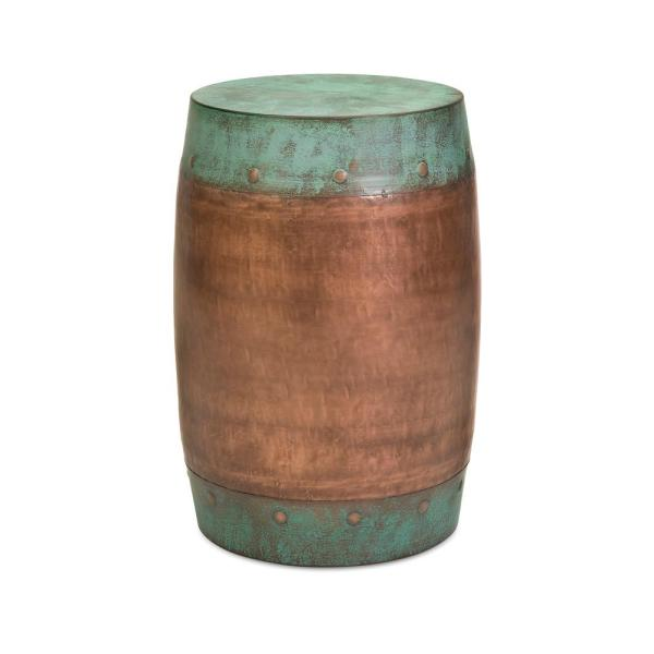 IMAX Worldwide Home Rania Copper Plated Stool