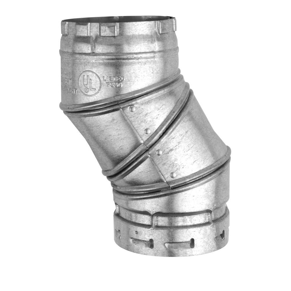 4 in. B Vent 90-Degree Adjustable Elbow
