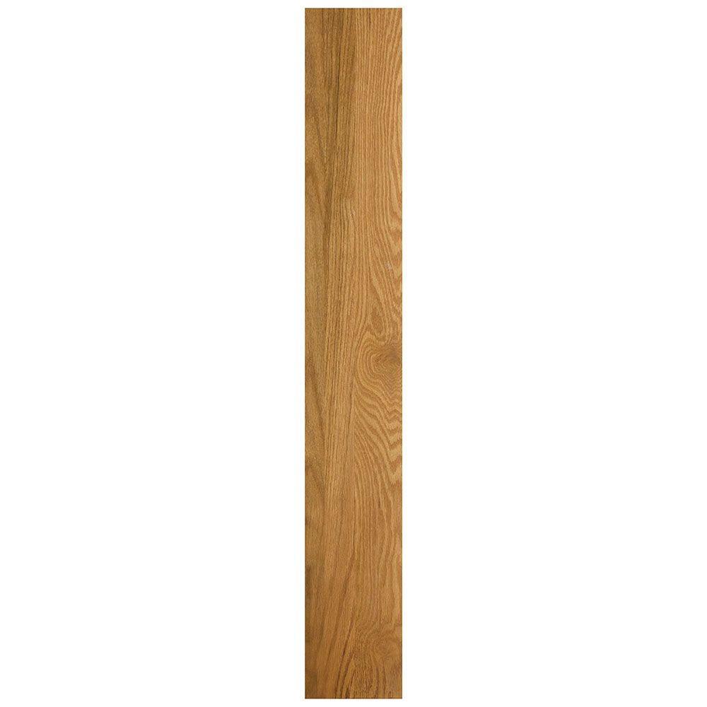 6 in. x 0.75 in. x 42 in. Cabinet Filler in Medium Oak