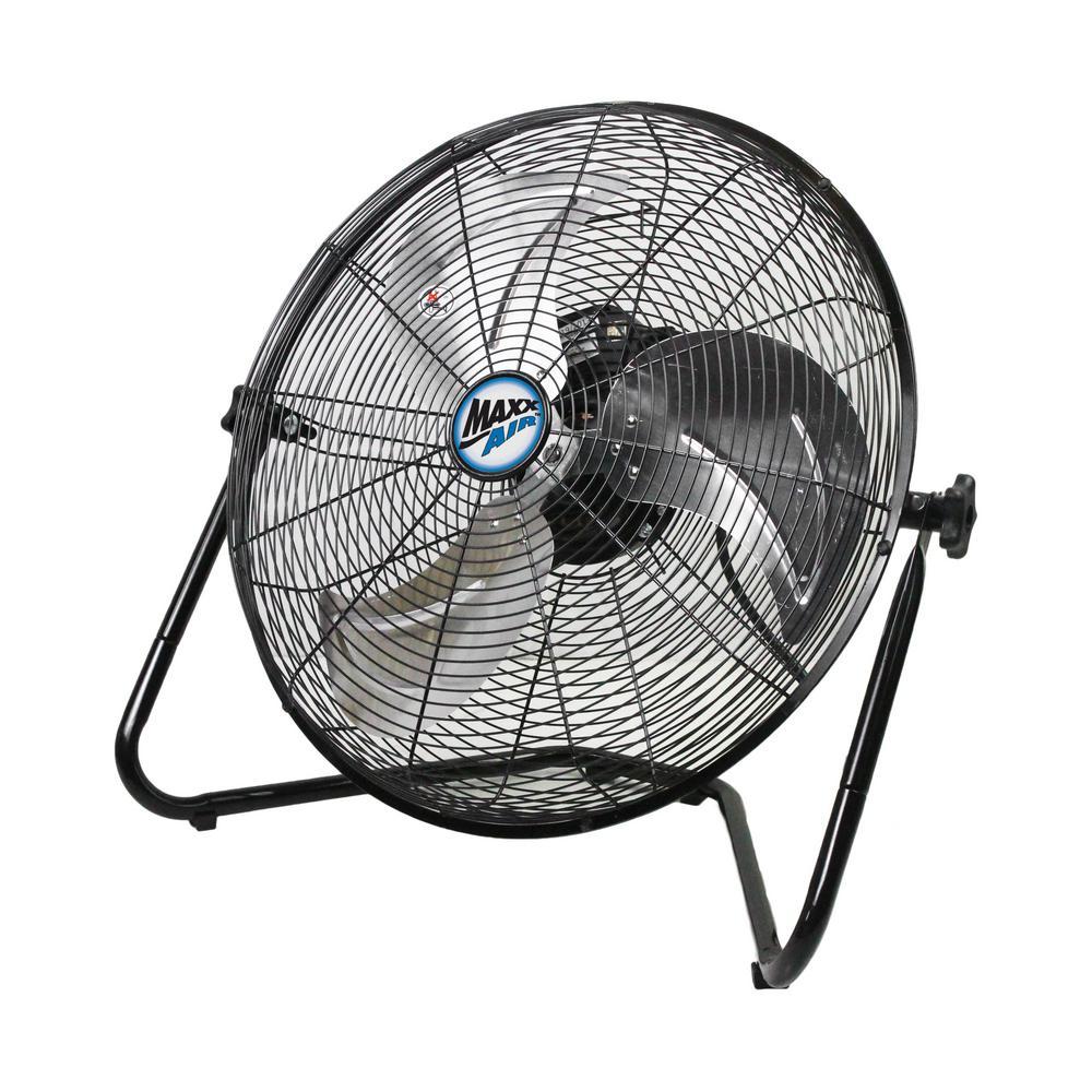 20 in. High-Velocity Floor Fan