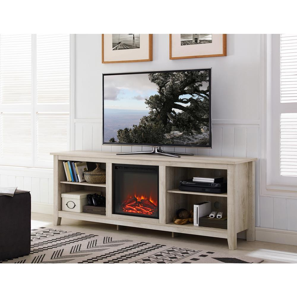 walker edison furniture company 70 in wood media tv stand console