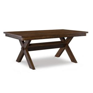 Krause Rustic Umber Dining Table