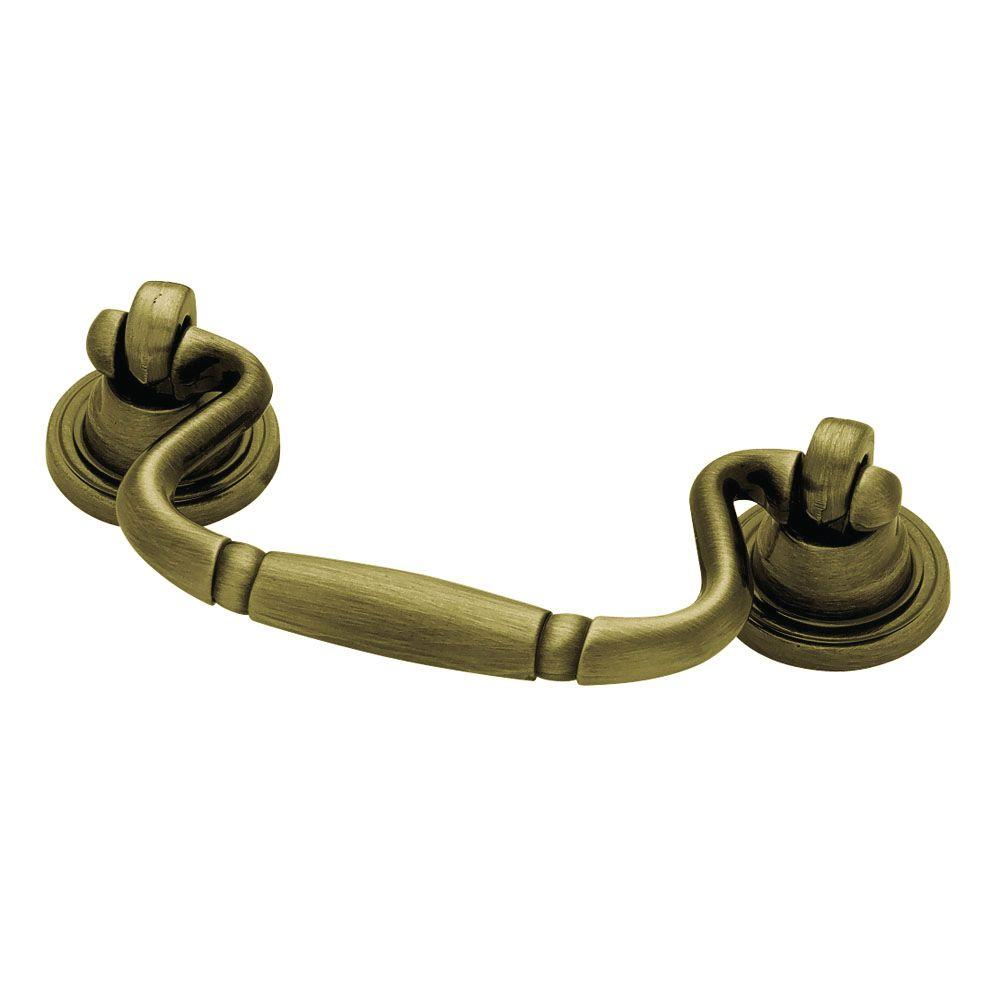 (64mm) Antique Brass Bail Pull - Liberty 2-1/2 In. (64mm) Antique Brass Bail Pull-PN0457Q-AB-C