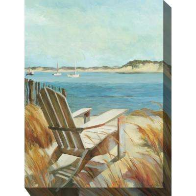 "30 in. x 40 in. ""Sea Breeze"" Outdoor Canvas Wall Art"