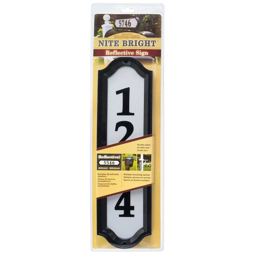 House letters numbers address signs the home depot nite brite kit biocorpaavc