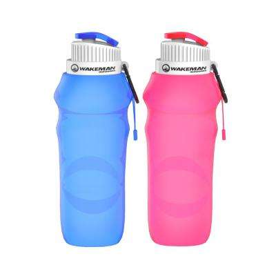 20 oz. Collapsible Water Bottles (2-Pack)
