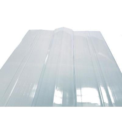 51 in. x 18 in. TUFTEX Clear Polycarbonate Universal Ridge Cap