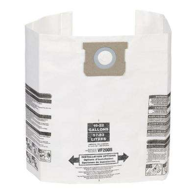 15 Gal. to 22 Gal. Dust Collection Bags for Genie and Shop-Vac Wet/Dry Vacuums (3-Pack)