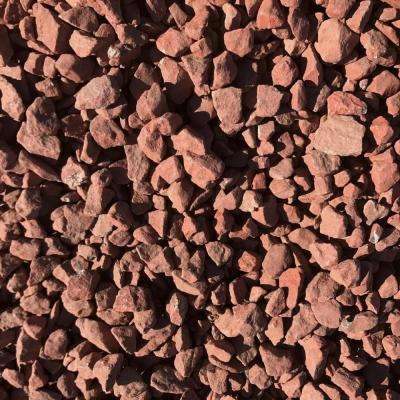 0.90 cu. ft. 75 lbs. 3/4 in. Scarlet Red Landscaping Gravel (40-Bag Contractor Pallet)