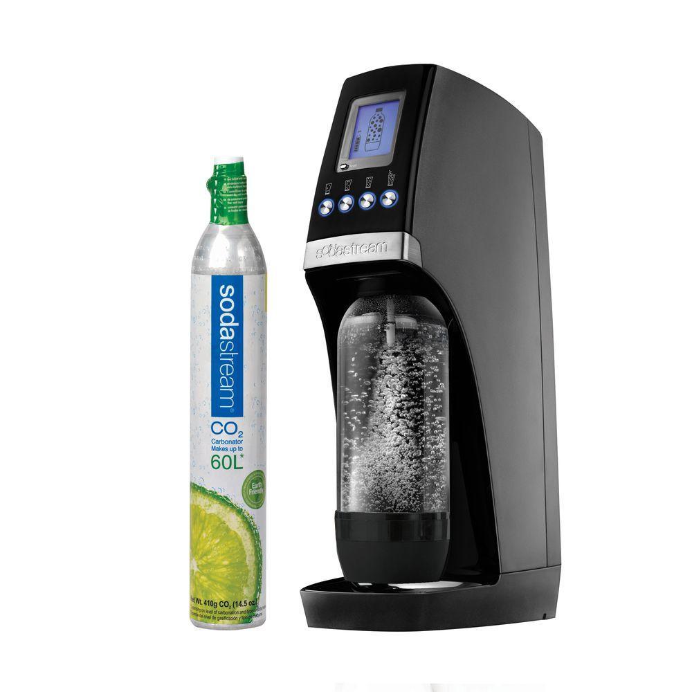 SodaStream Revolution Home Soda Maker Starter Kit in Black