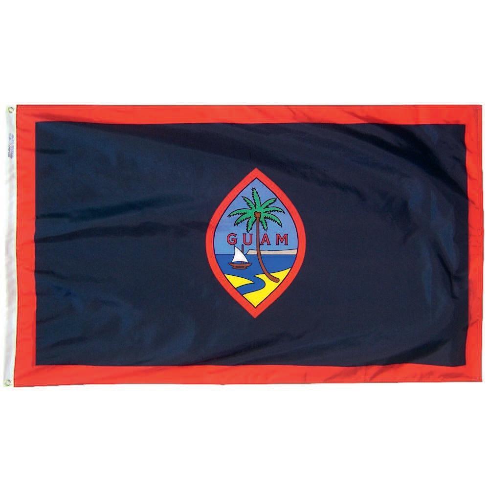 3 Ft X 5 Nylon Guam Flag