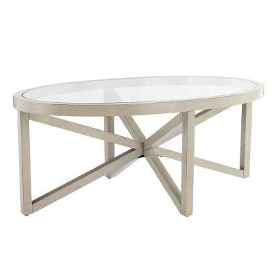 Holte Warm French Gray Cocktail Table