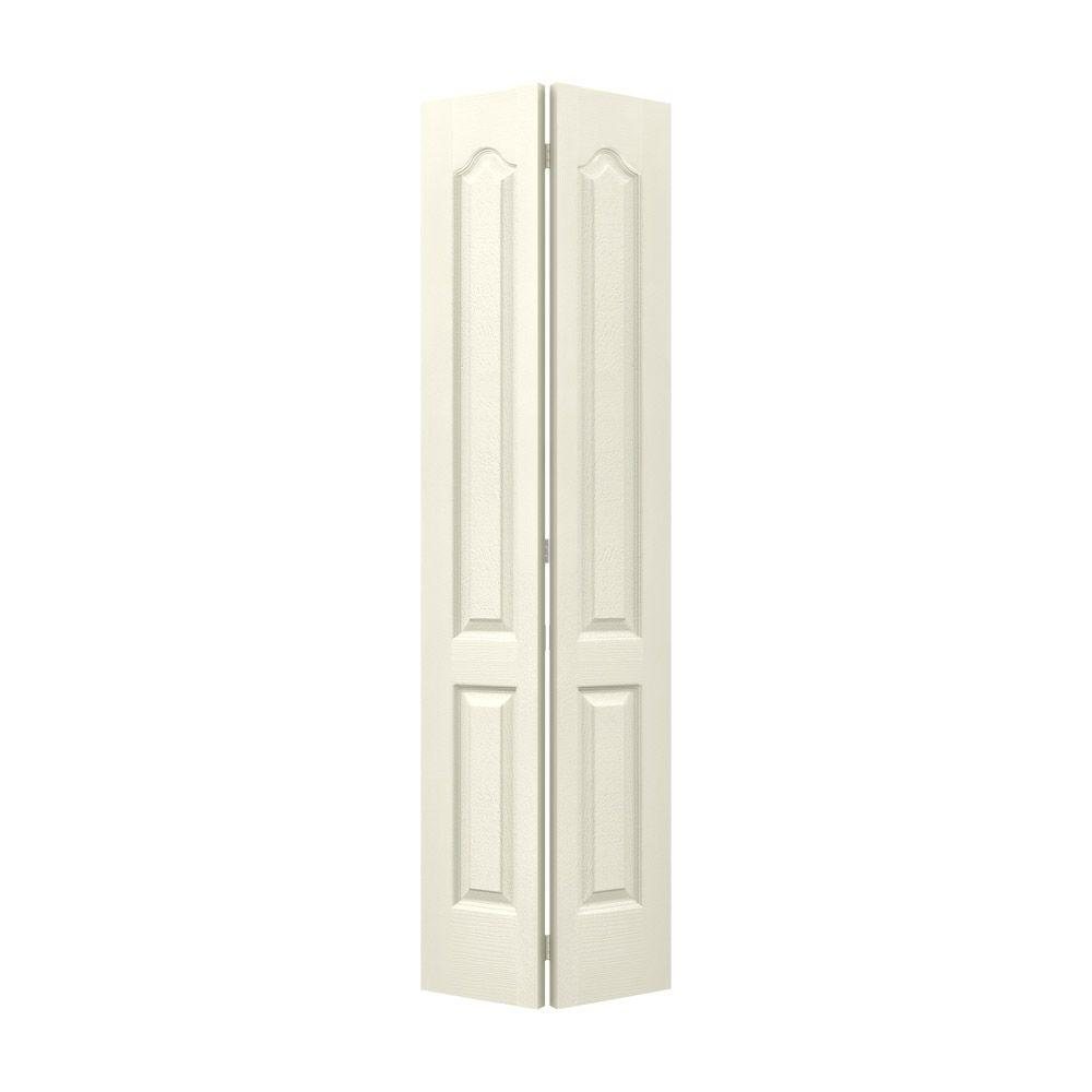 24 in. x 80 in. Princeton Vanilla Painted Smooth Molded Composite