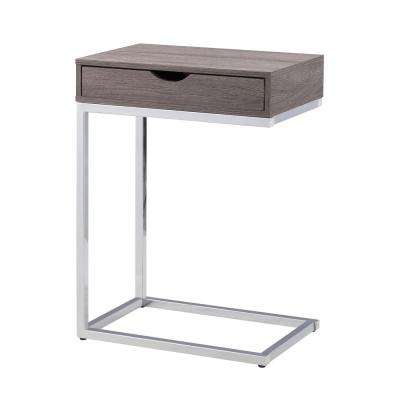 Bence Washed Gray Storage C Table