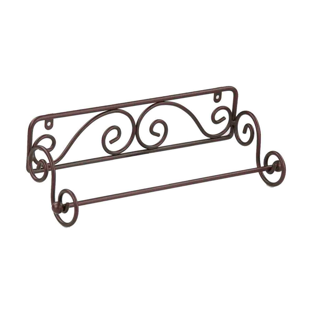 kitchen towel holder wall mounted. Wall Mounted Bronze Paper Towel Holder Scroll Design Kitchen Bathroom Dorm Shop H