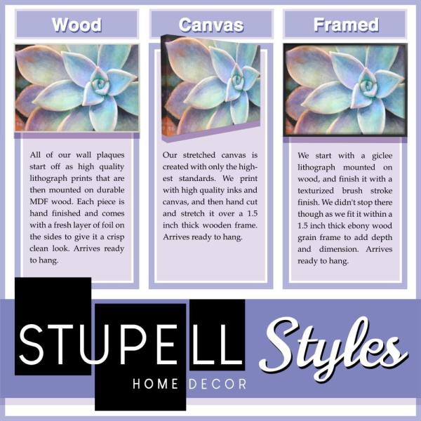 The Stupell Home Decor Mixed Pinks Watercolor Cacti Mod Shapes Framed Giclee Texturized Art 16 x 20 Multi-Color