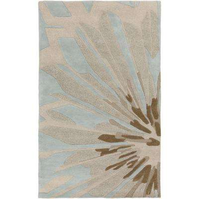 Arisarum Ivory 9 ft. x 13 ft. Indoor Area Rug