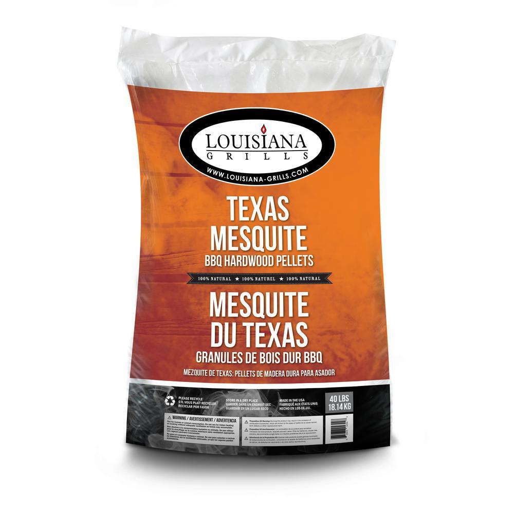 Louisiana Grills 40 lb. Texas Mesquite Hardwood Pellets