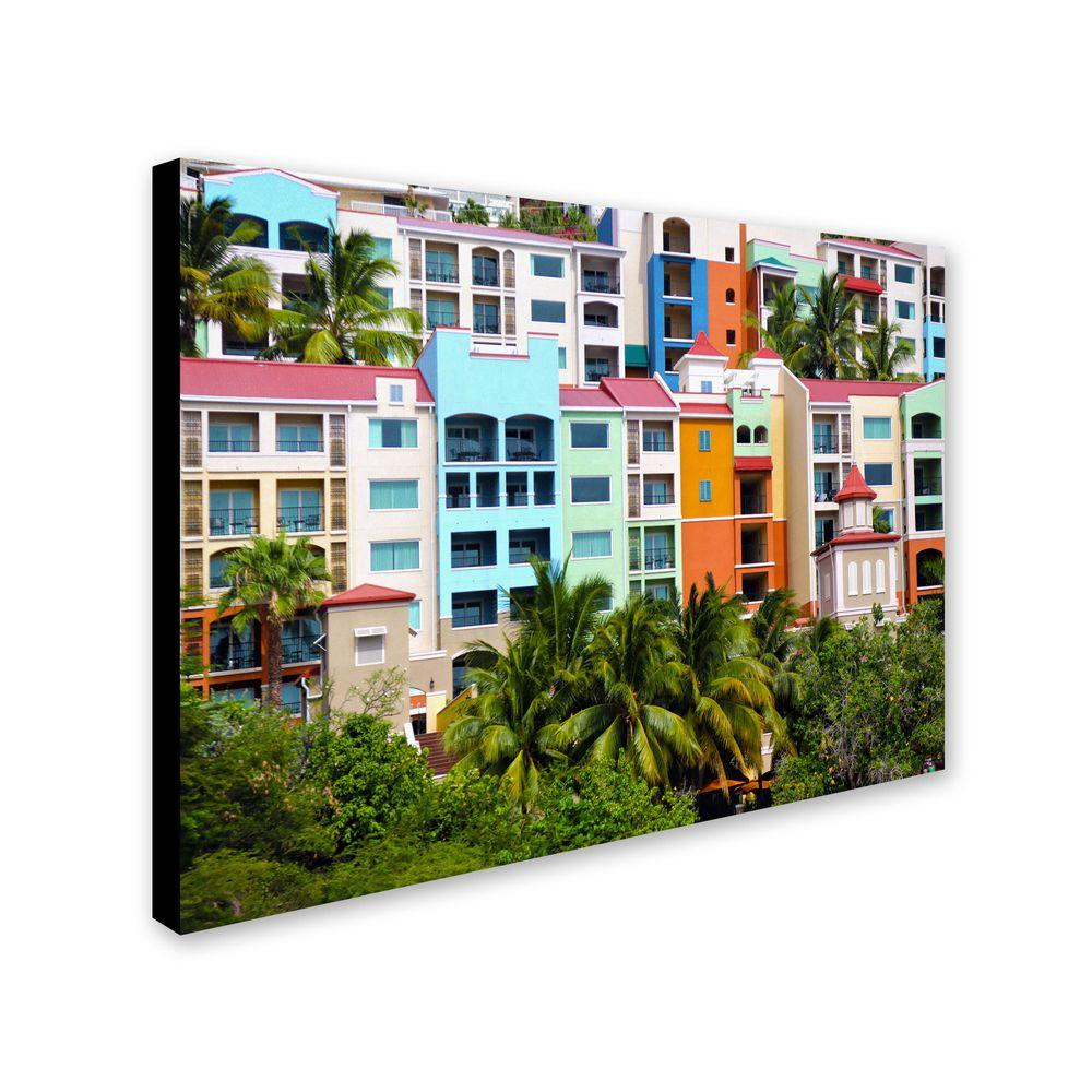 22 in. x 32 in. Virgin Islands 2 Canvas Art