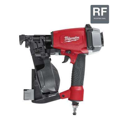 Pneumatic 1-3/4 in. 15 Degree Coil Roofing Nailer