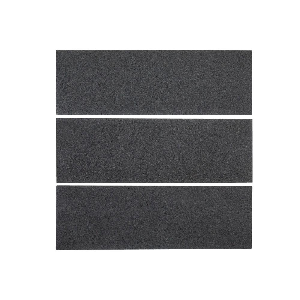 Field Basalt 4 in. x 12 in. Basalt Wall Tile (1