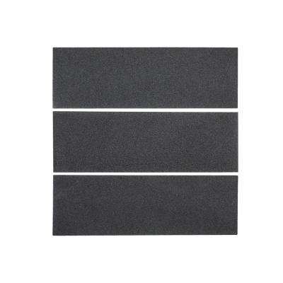 Basalt Gray 4 in. x 12 in. Honed Basalt Floor and Wall Tile (1 sq. ft. / pack)