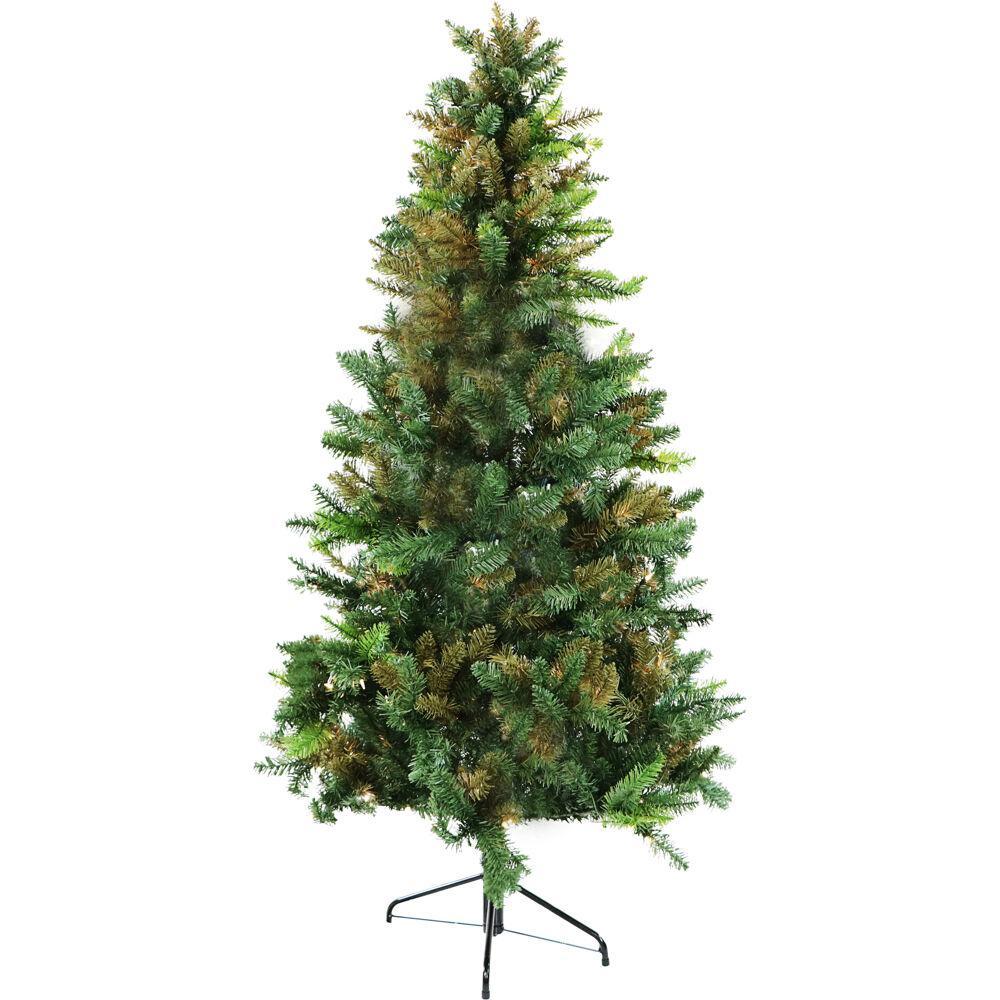 6 ft. Green Festive Camo Christmas Tree