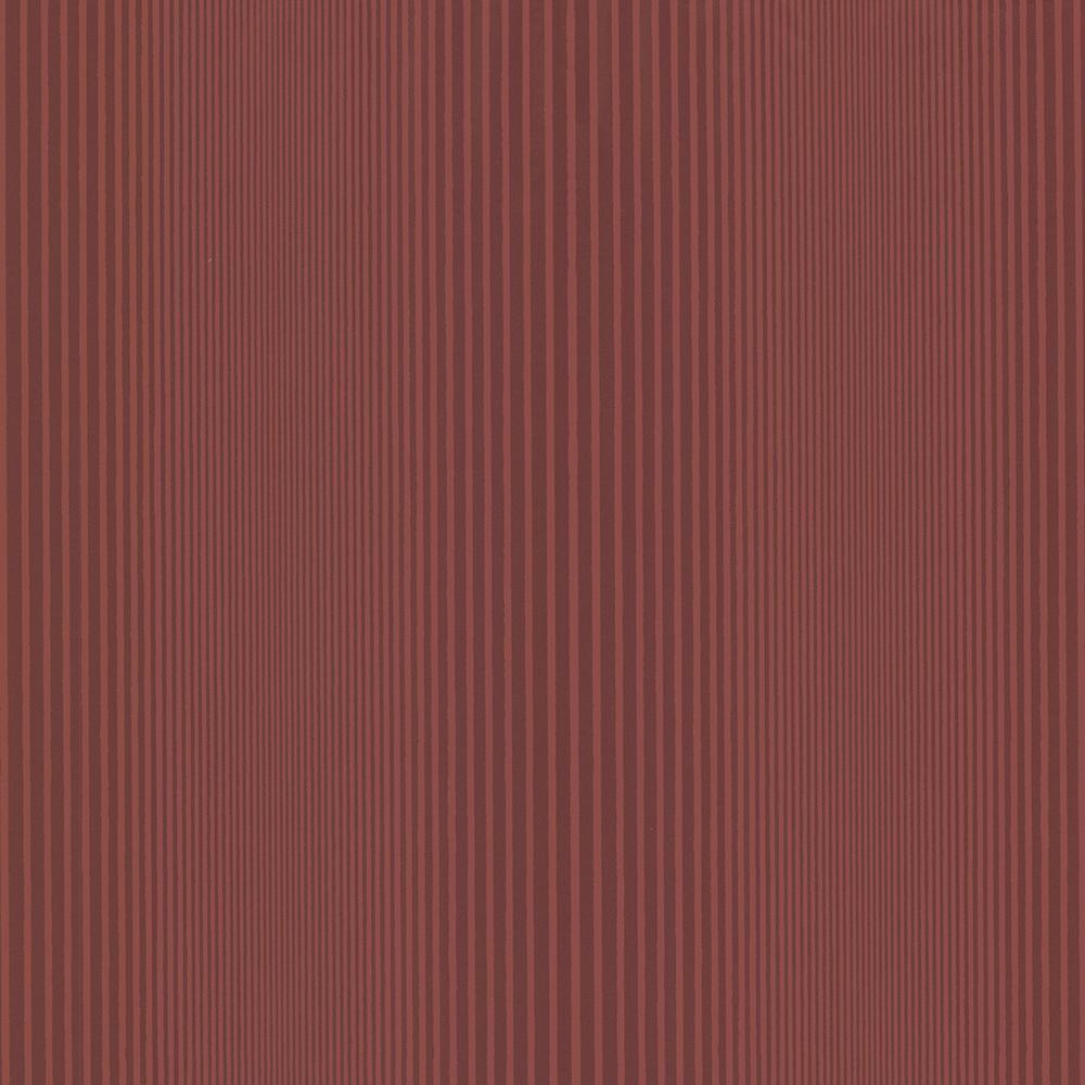 Brewster Alpha Red Ombre Stripe Wallpaper HZN43046