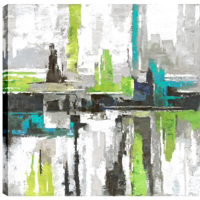 Cityscape II, Landscape Art, Fresh Printed Canvas Wall Art Decor Gallery Wrapped Wall Art