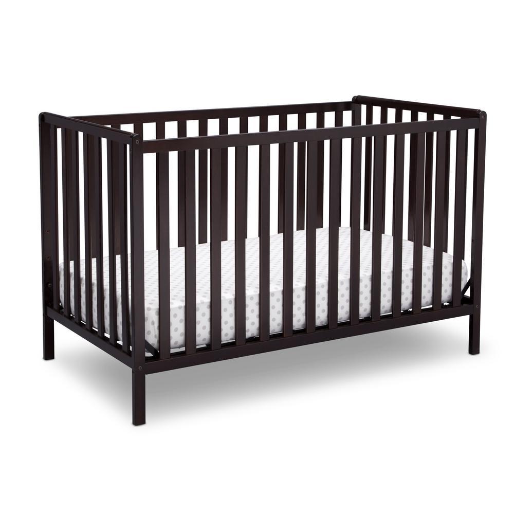 Dark Chocolate Heartland 4-in-1 Convertible Crib