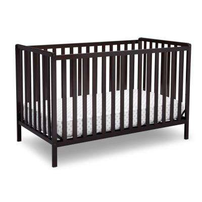 Dark Chocolate Heartland 4-in-1 Convertible Crib