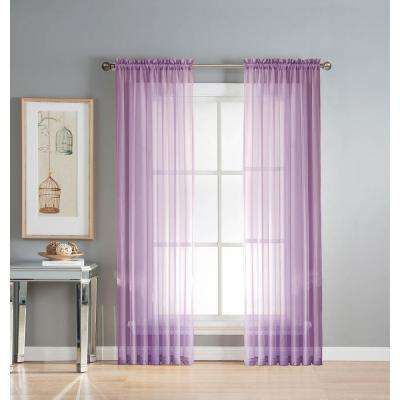Famous Purple - Sheer - Curtains & Drapes - Window Treatments - The Home  EL83
