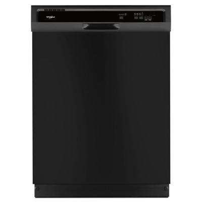 Front Control Built-In Tall Tub Dishwasher in Black
