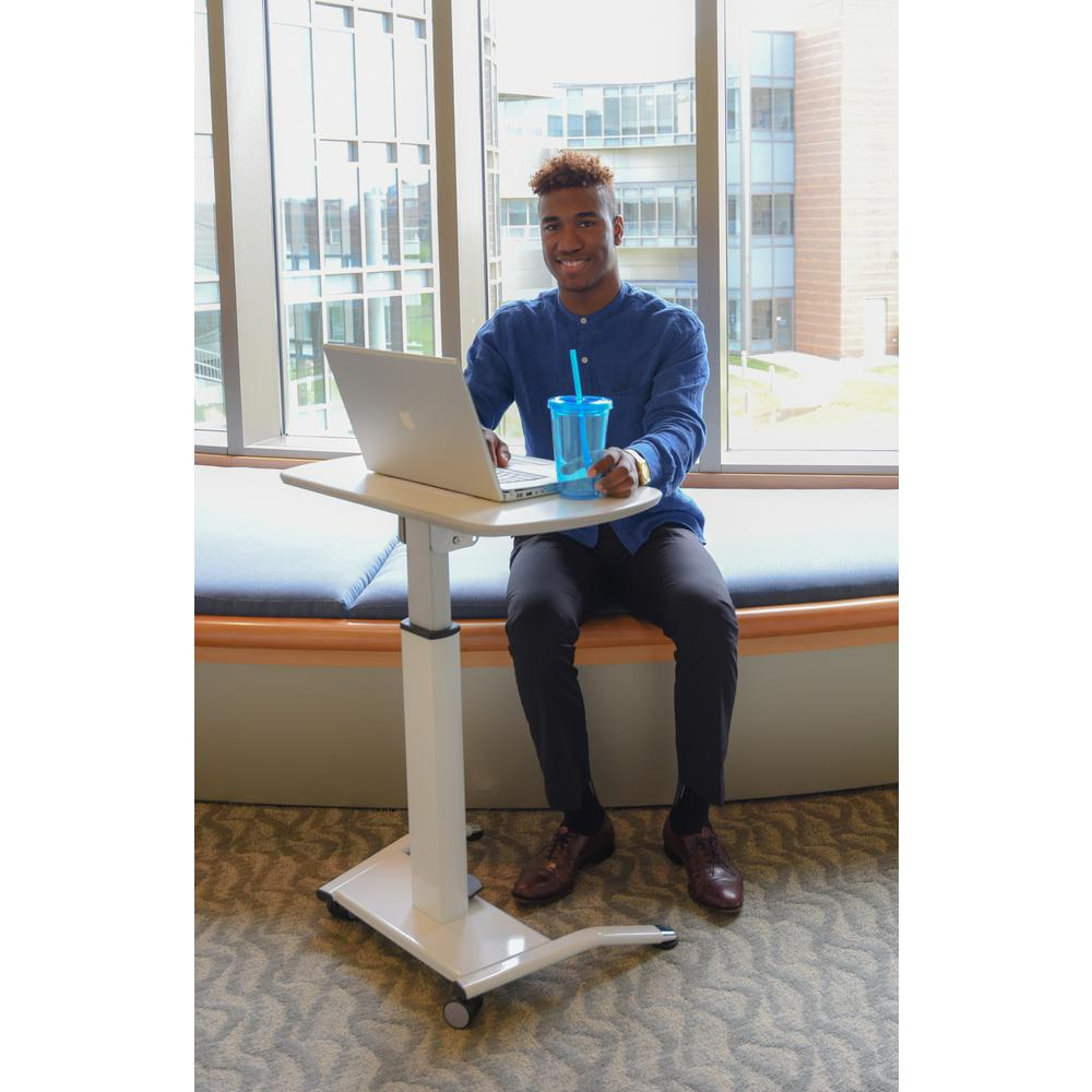 Light Gray Laptop Desk